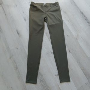 NY&Co olive skinny jeans